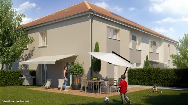logement neuf VUE SUR PARC - MAISONS  CARRIERES SOUS POISSY