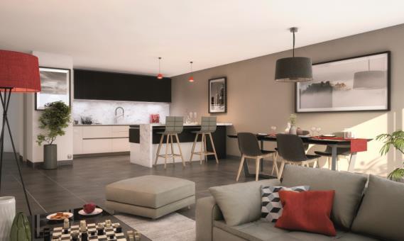 logement neuf SQUARE BELLES VUES  Houilles