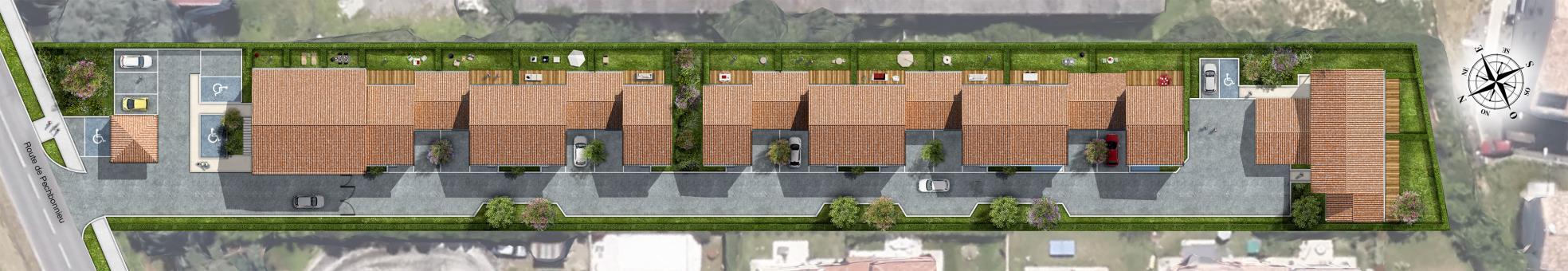 logement neuf VILLAS CASTELIA  Castelginest