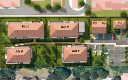 logement neuf DOMAINE DU CANAL  Tournefeuille